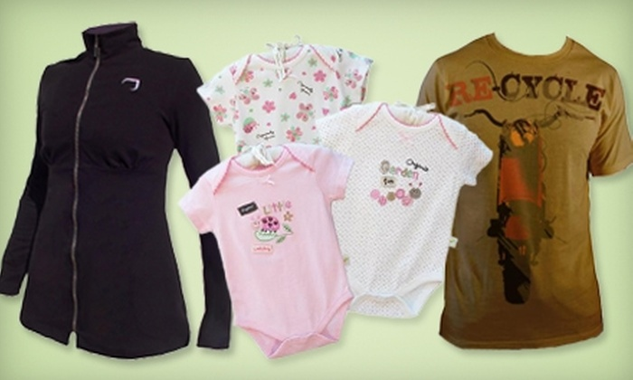 Organically Grown: $9 for $20 Toward Organic-Cotton Apparel and More from Organically Grown