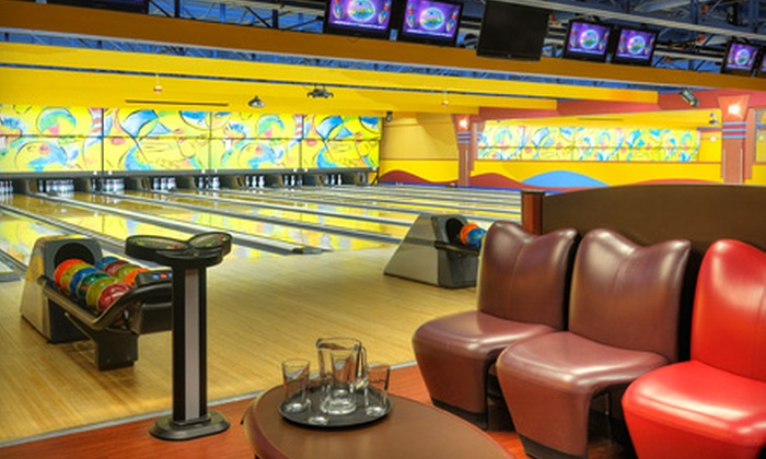 Boston Bowl Family Fun Center - Multiple Locations: Bowling Outing for Two or Four at Boston Bowl