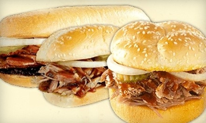 Dickey's Barbecue Pit  - Southridge: $7 for $15 Worth of Smokehouse Fare and Drinks at Dickey's Barbecue Pit in Overland Park