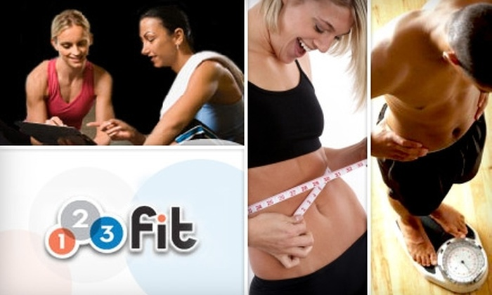 123 Fit - Concord: $48 for a Two-Month Membership to 1-2-3 Fit and Four 30-Minute Personal-Training Sessions ($252 Value)