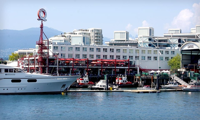 Lonsdale Quay Hotel - North Vancouver: One-Night Stay for Two in an Executive Room or Waterfront Suite at Lonsdale Quay Hotel in Greater Vancouver