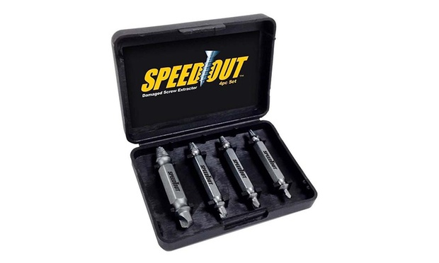 Four Piece Damaged Screw Extractor Set: One ($9.95) or Two ($16)