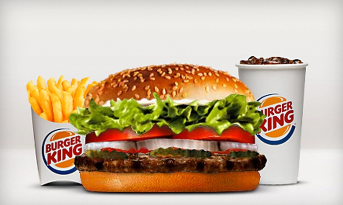 Burger King - Multiple Locations: $10 for Punch Card Good for 10 Whopper Sandwiches at Burger King ($32.90 Value)