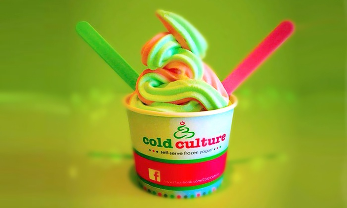 Cold Culture - Highland West: C$15 for Three Groupons, Each Good for $10 Worth of Frozen Yogurt at Cold Culture (C$30 Total Value)
