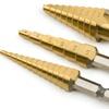Titan Tools 3-Piece Step Drill Set
