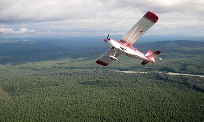 Above Alaska Aviation - Talkeetna: $199 for a 30-Minute Acrobatic Flight from Above Alaska Aviation ($399 Value)