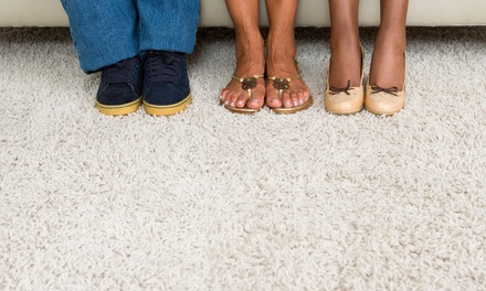 $59 for Carpet Cleaning for Three Rooms from Performance Carpet Cleaning (Up to $145 Value)