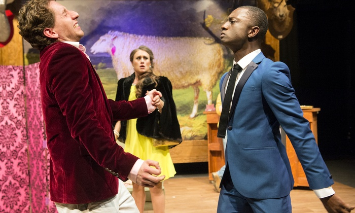 """""""She Stoops to Conquer"""" - The City College of New York's Aaron Davis Hall: """"She Stoops to Conquer"""" at The City College of New York's Aaron Davis Hall on July 24–August 1 (Up to 50% Off)"""