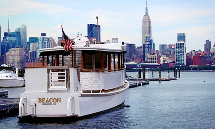 Classic Harbor Line - Hoboken: Sunset Cruise, Sinatra & City Lights Cruise, or Day Cruise for Two from Classic Harbor Line (Up to $20 Off)