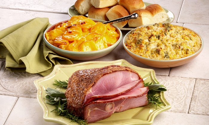 HoneyBaked Ham & Cafe - Multiple Locations: Gourmet Meats and Cafe Food or Mini-Ham DInner for Up to 7 at HoneyBaked Ham & Cafe (Up to 53% Off)