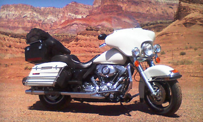 Oklahoma Harley Rental - Musgrave-Pennington: $199 for Three-Day Harley or Suzuki Rentals from Oklahoma Harley Rental (Up to $405 Value)