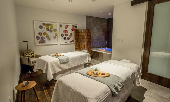 Spa by JW - Downtown: 60-Minute Massage or Facial with Valet Parking at Spa by JW (43% Off)
