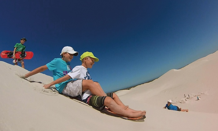 Mamba Sandboarding - Cape Town: Sandboarding From R300 with Mamba Sandboards (Up To 55% Off)