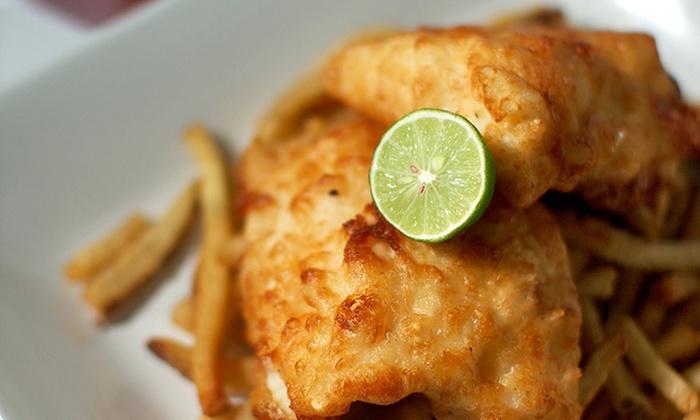 The Battered Fish - Multiple Locations: C$8 for C$15 Worth of Fast Casual Seafood, Drinks, and More at The Battered Fish