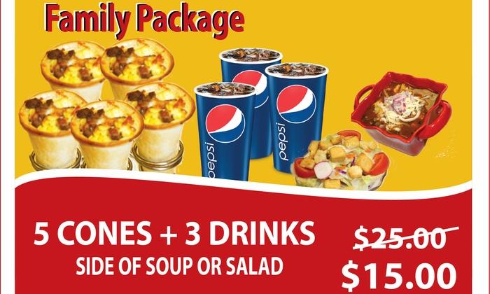 Coneizza - Laguna Hills: $15 for $25 Worth of Pizza Meal at Coneizza