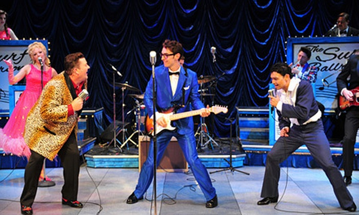 """""""Buddy – The Buddy Holly Story"""" - Ogunquit Playhouse: Performance of """"Buddy: The Buddy Holly Story"""" at Ogunquit Playhouse (Up to 51% Off). Four Showtimes Available."""