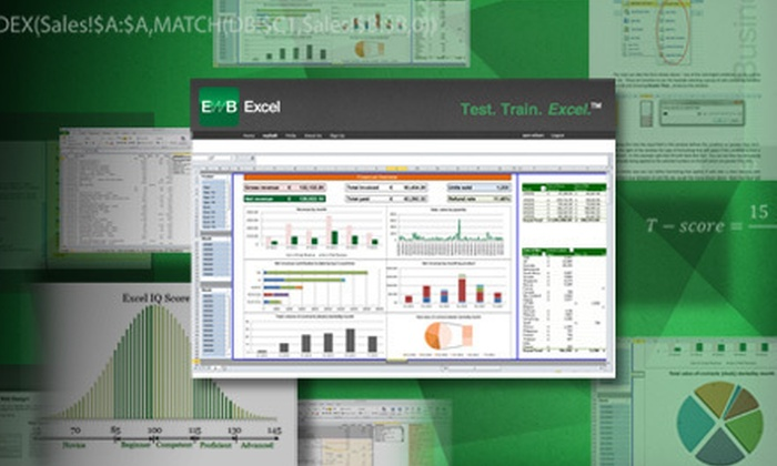 Excel With Business: Accredited Online Microsoft Excel Course for 1 or 10 in English from Excel With Business (Up to 93% Off)