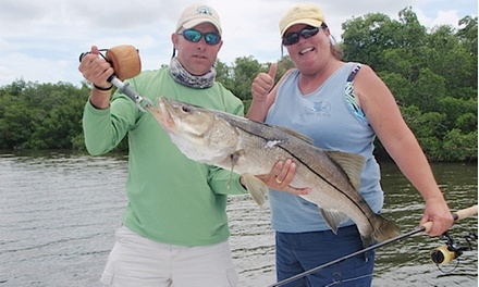 Half-Day Fishing Charter for Two or Three from Scales and Tails Charters (Up to 40% Off)