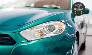 Centro de Estética Automotiva GP: Estética Automotiva GP – Cidade Nova: lavagem externa, polimento e limpeza interna (opção de lavagem de chassis e mais)
