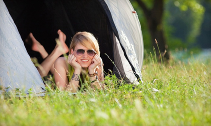 Niagara Falls North KOA - Youngstown: $15 for a One-Night Camping Getaway for Two People at Niagara Falls North KOA in Youngstown (Up to $35 Value)