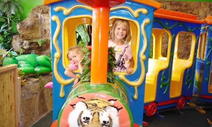 Indoor Safari Park - Multiple Locations: $5 for One Safari Play Pass at Indoor Safari Park ($10 Value)