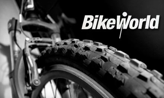 Bike World - Multiple Locations: $29 for a Complete Bike Tune-Up at Bike World ($70 Value)