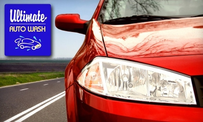 Ultimate Auto Wash - Bloomfield/Allen: $9 for Two Executive Car Washes at Ultimate Auto Wash ($18 Value)