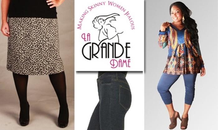 La Grande Dame - Houston: $75 for $150 Worth of High-End Plus-Size Fashion from La Grande Dame