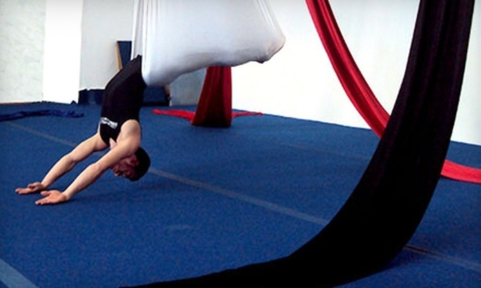 South Florida Circus Art School - North Miami Beach: $20 for Three Sessions of Flying Yoga at South Florida Circus Art School in North Miami Beach ($75 Value)