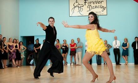 4 Drop-In Classes (a $60 value) - Forever Dancing in Falls Church