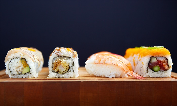 Eight Piece - Lake Zurich: Two or Three Groupons, Each Good for $10 Worth of Sushi, Bibimbap, and Drinks at Eight Piece (50% Off)