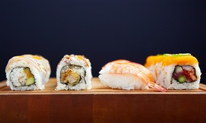 Eight Piece: Two or Three Groupons, Each Good for $10 Worth of Sushi, Bibimbap, and Drinks at Eight Piece (50% Off)