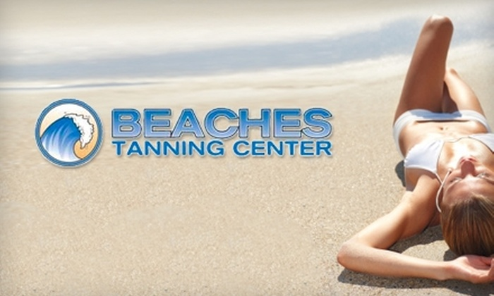 Beaches Tanning Center - Multiple Locations: $35 for Four Spray-Tanning Sessions at Beaches Tanning Center