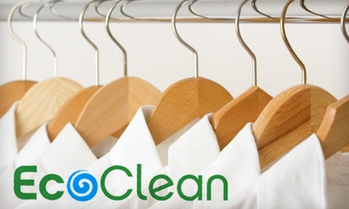 EcoClean - North University: $20 for $40 Worth of Eco-Friendly Dry Cleaning at EcoClean
