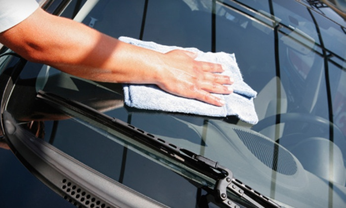 Eco Friendly Car Wash - Danbury: Exterior Wash or Full-Service Wash with Waxing at Eco Friendly Car Wash in Danbury
