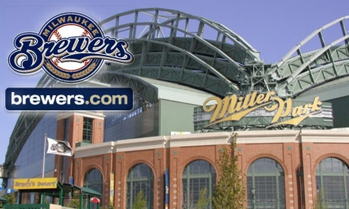 Milwaukee Brewers - Milwaukee: Half Off Milwaukee Brewers Tickets. Choose from Three Dates and Seating Options.