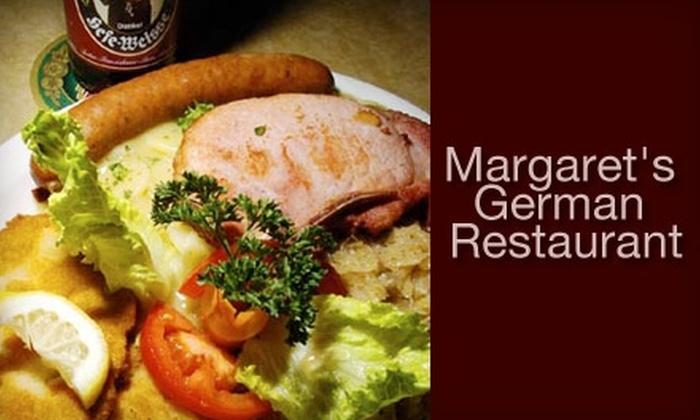 Margaret's German Restaurant & Deli - The Farm: $5 for $10 Worth of Old World Fare at Margaret's German Restaurant & Deli