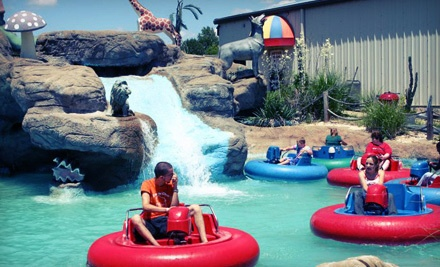 Rides and Games Package with Concessions for 2 - Tee Time Family Fun Center in St. Louis