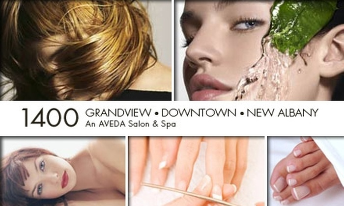1400 Aveda Salon - Columbus: $25 for $60 Worth of Services From 1400 Aveda Salon & Spa