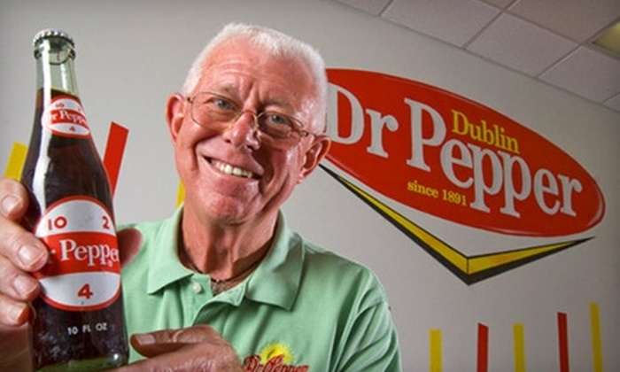 Dublin Dr Pepper Bottling Company - Austin: $6 for Two Tickets to a Dublin Dr Pepper Bottling Company Tour Plus Two Frosty Peppers (Up to $13.50 Value)