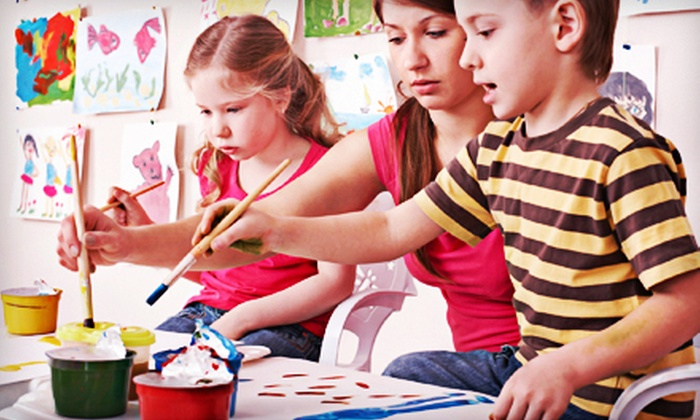 null - River Park: Two or Four Sessions of Children's Art Camp at Imagine That! in Mishawaka (Up to 58% Off)