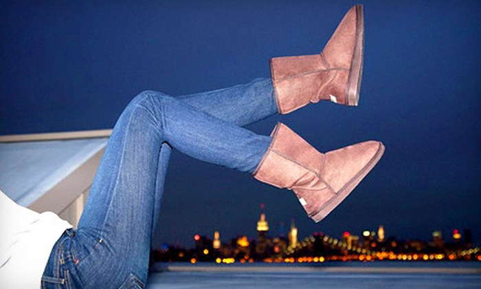 Shoe Scandal: Lined Boots from Shoe Scandal (Up to 61% Off). Four Options Available.
