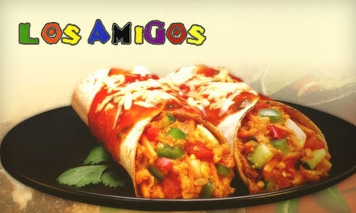 Los Amigos - Hillwood: $9 for $18 Worth of Mexican Dinner Fare (or $5 for $10 Worth of Lunch) at Los Amigos