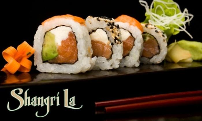 Shangri La Asian Bistro - Lodi: $12 for $25 Worth of Asian Fusion Fare at Shangri La Asian Bistro