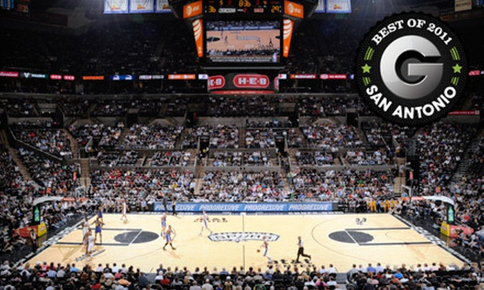 San Antonio Spurs - San Antonio Central: One Ticket to a San Antonio Spurs Game at AT&T Center on February 2 or March 4. Four Options Available.
