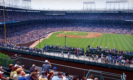 Chicago Cubs vs. Washington Nationals at 3639 Wrigley Rooftop on Sat., April 7 at 12:05PM: Rooftop Seating - 3639 Wrigley Rooftop in Chicago