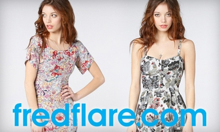 fred flare: $25 for $50 Worth of Apparel, Accessories, and Home Goods from fred flare