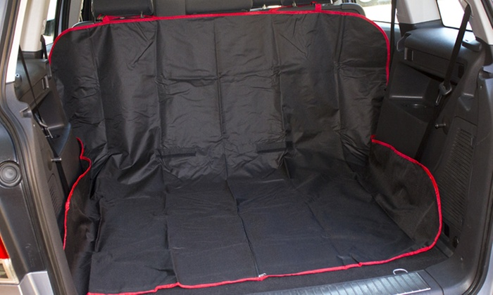 2 in 1 car boot seat protector groupon. Black Bedroom Furniture Sets. Home Design Ideas