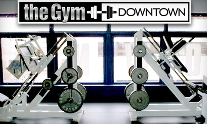 The Gym Downtown - Downtown Norfolk: $29 for a Three-Month Membership and One Personal-Training Session at The Gym Downtown