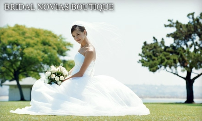 Bridal Novias - El Paso: $45 for $100 Worth of Wedding Dresses, Evening Gowns, and More at Bridal Novias